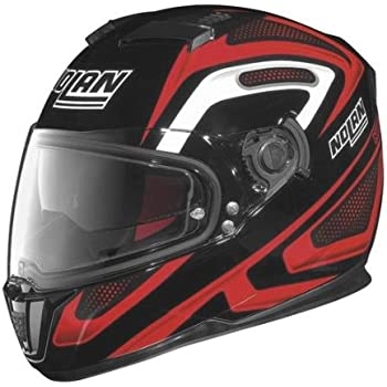 Nolan N-86 Overtaking Non N-Com Helmet , Distinct Name: Black/Red/White, Gender: Mens/Unisex, Helmet Category: Street, Helmet Type: Full-face Helmets, ...