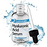 Anti-Aging Hyaluronic Acid Serum - High Purity, Medical-Grade Formula - Safe, Effective Hydration