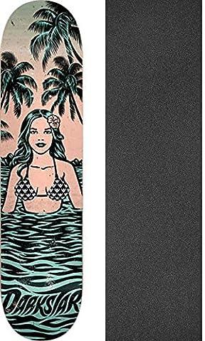Darkstar Skateboards Hawaiian Green / Peach Skateboard Deck - 8