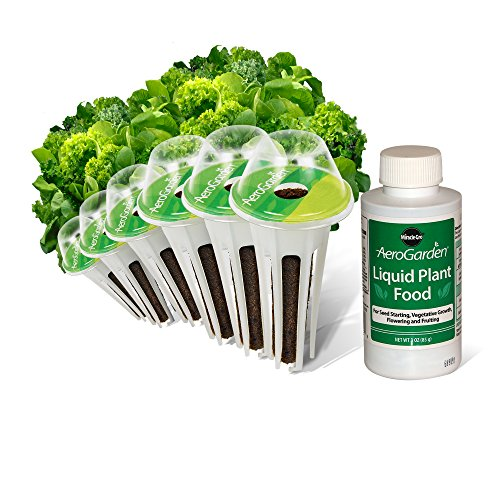 (AeroGarden Heirloom Salad Greens Seed Pod Kit (6-Pod) )