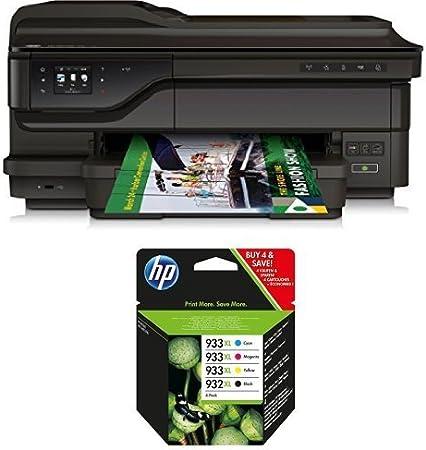 HP Officejet 7612 Pack - Impresora multifunción de tinta + Pack de ...