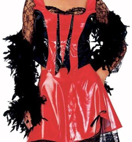 [Saloon Gal Big Turkey Feather Boa - Adult Std.] (Saloon Gal Costumes)