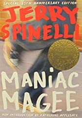 """A Newbery Medal winning modern classic about a racially divided small town and a boy who runs. Jeffrey Lionel """"Maniac"""" Magee might have lived a normal life if a freak accident hadn't made him an orphan. After living with his unhappy and uptig..."""
