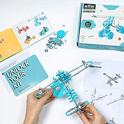 Fat Brain Toys OffBits - AirBit Building & Construction for Ages 8 to 10: Toys & Games