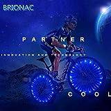 Brionac Newest 2019 Bike Wheel Lights with