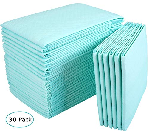 (Incontinence Bed Pads Disposable Underpads for Adults, Children and Pets,Absorbency Disposable Bed Pads for Incontinence (36Lx23W,30Pads))