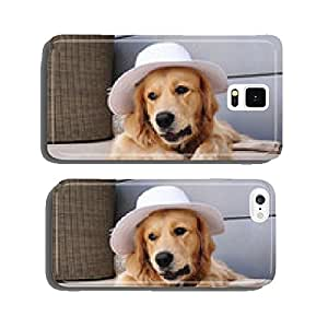 Vegan dog wearing a nice hat cell phone cover case Samsung S5