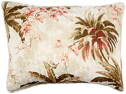 Tommy Bahama Bonny Cove Cotton Quilted Standard Sham