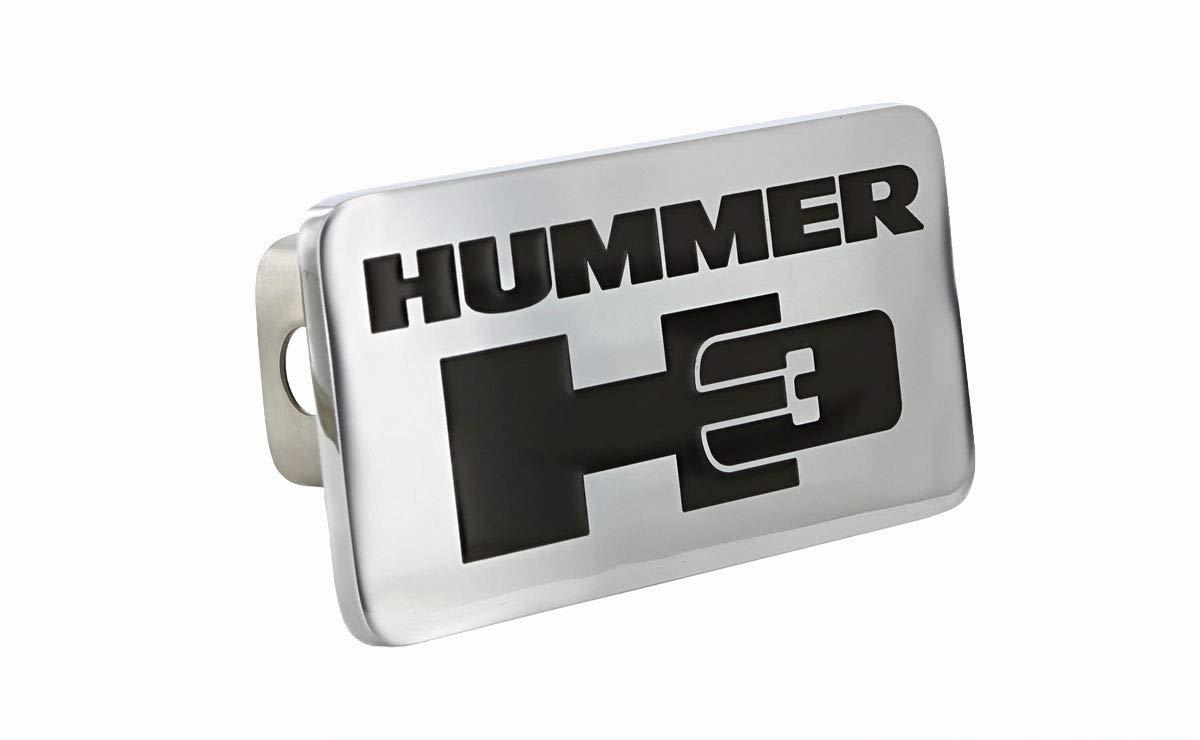 Hummer H3 Emblem Metal Trailer Hitch Cover Plug by Hummer