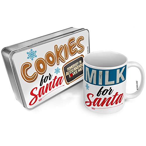 NEONBLOND Cookies and Milk for Santa Set Somebody