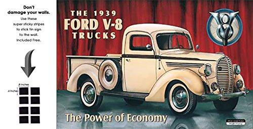 Shop72 - Tin Sign Ford Pick Up - 1939 Vintage Tin Sign Retro Metal Sign