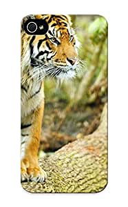 New Animal Tiger Tpu Case Cover, Anti-scratch Summerlemond Phone Case For Iphone 5/5s