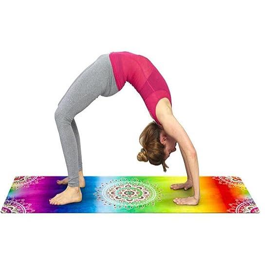 Amazon.com : ZGSP Yoga Mat Yoga Pilates alfombra de piso Mat ...
