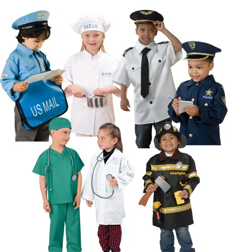 Constructive Playthings Cpx 237 Community Helpers Outfits