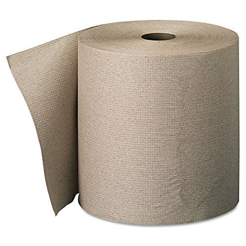 Georgia Pacific 26301 Nonperforated Paper Towel Rolls, 7 7/8 x 800ft, Brown, 6 ()
