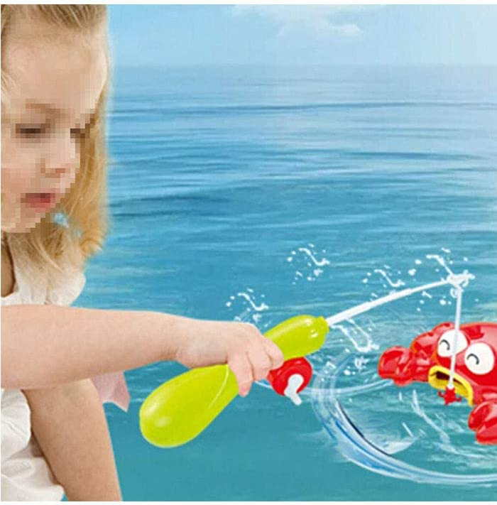 LLHAI Water Play Table Toys Music with Water Slide Fishing Game Waterpark for Kids Activities Play Table