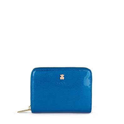 Tous 995960395, Monedero para Mujer, (Azul), 13x11x2 cm (W x ...