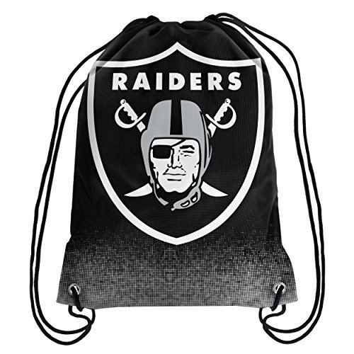 Oakland Raiders Exclusive Gradient Drawstring Backpack