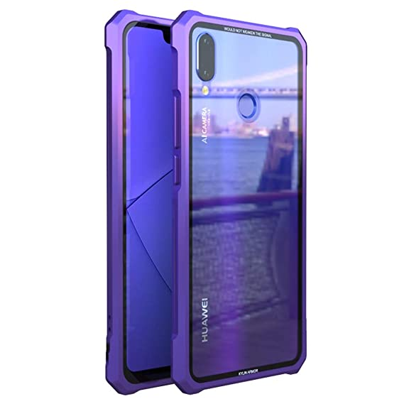 Amazon.com: Huawei P Smart+ Case, UBERANT Metal Frame ...