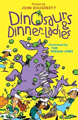 book cover of Dinosaurs and Dinner Ladies