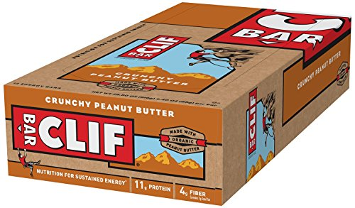 Clif Bar Energy Bar Crunchy Peanut Butter — 12 Bars
