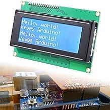 XCSOURCE IIC/I2C/TWI Serial Interface 2004 20x4 Character LCD Display Module Controller Blue Blacklight For Arduino TE116