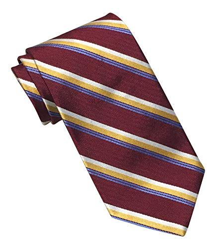 Brooks Brothers Makers and Merchants Burgundy Striped Tie Brooks Brothers Striped Tie