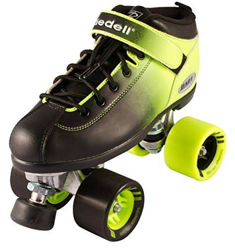 New! Riedell Dart 2 Tone Ombre Quad Roller Speed Skate Youth & Adult Sizes! (Mens 9) by Riedell Skates
