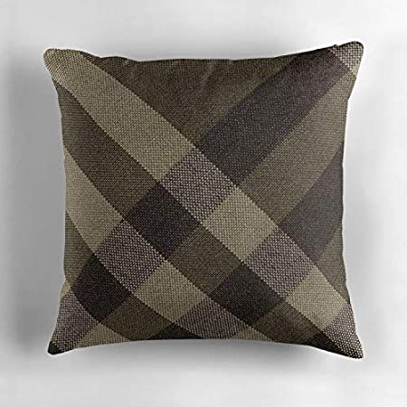 Tie Soft Cotton Throw Pillow Cover