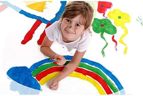 Gelentea 12Pcs Kids Paint Brushes Sponge Painting Brush Art Early Learning DIY Tool Toys Foam Brushes for Children