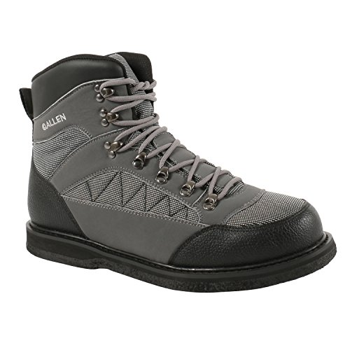 Allen Granite River Wading Boot, Felt Sole, Gray, used for sale  Delivered anywhere in USA
