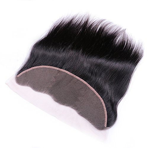 Sterly Brazilian Straight Hair 3 Bundles With Frontal Closure 13x4 Ear To Ear Lace Frontal With Bundles Unprocessed Virgin Human Hair Extensions Natural Color (18 20 22 +16) by Sterly (Image #6)