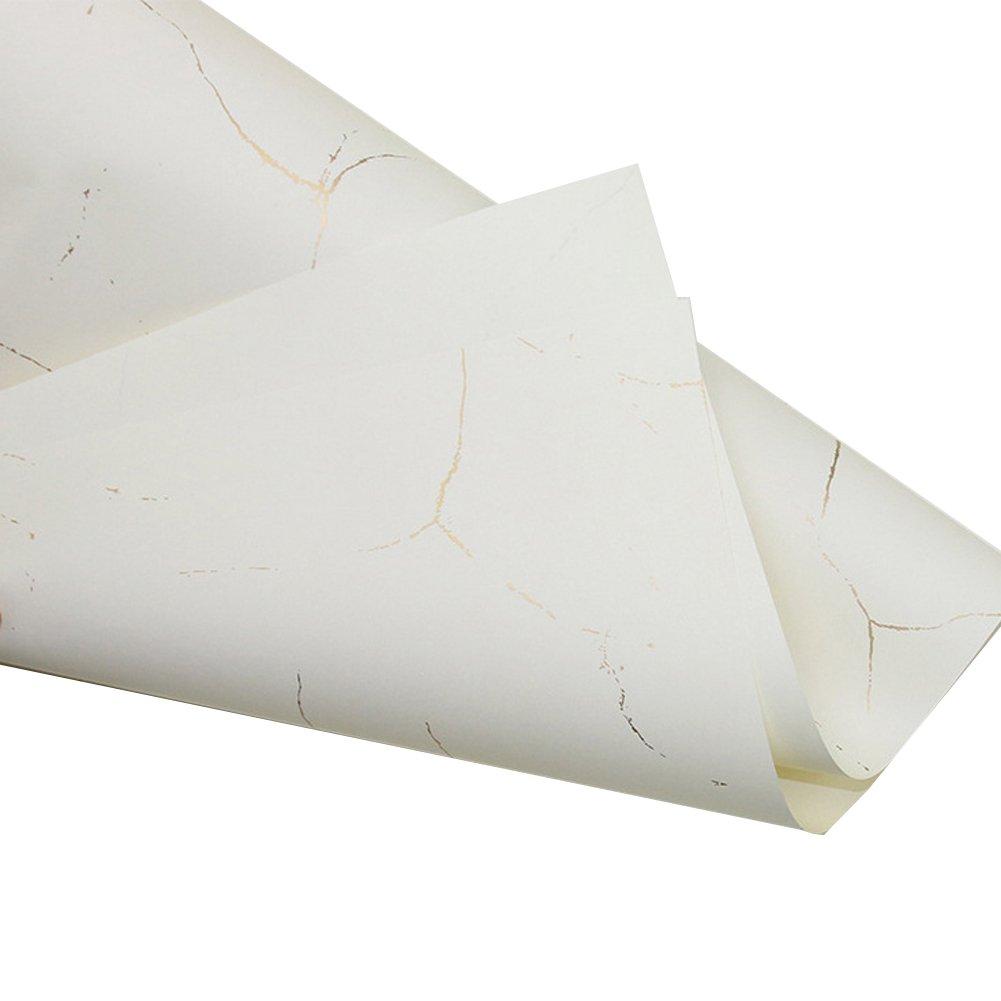 Flower Wrapping Paper Floral BouquetGift Wrap Color Tissue Paper Multi Colors 10 Counts,Cracked Beige