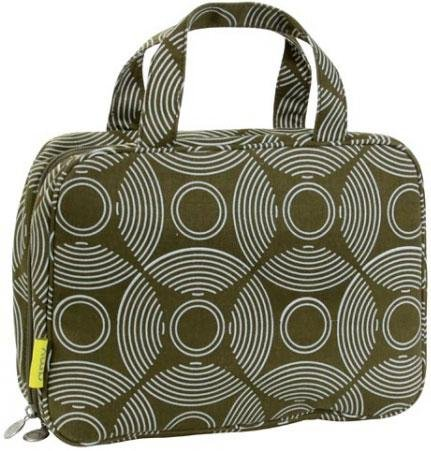 Amy Butler Clara Toiletry Bag,Sun and Moon Sepia,one size, Bags Central