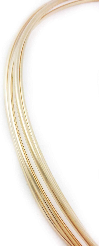 14k Gold Filled Round Half Hard Wire 28 gauge Made in USA