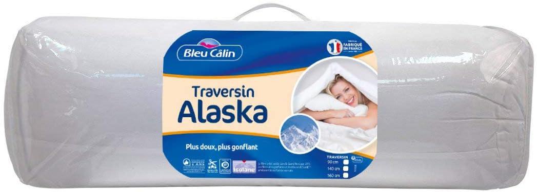 Cuscino Alla Francese Ikea.Bleu Calin Cuscino Alla Francese Comfort Alaska Bianca 90 Cm