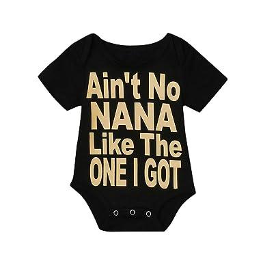 918982523a4 Mealeaf ❤ Newborn Infant Baby Girl Boy Romper Bodysuit Jumpsuit Outfits  Sunsuit Clothes