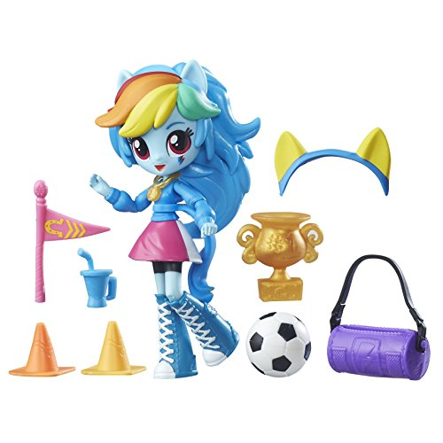(My Little Pony Equestria Girls Minis Rainbow Dash School Pep Rally Set)