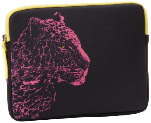 Juicy Couture Ipad 3 Sleeve-Snow Leopard-Neoprene YTRUT202 Laptop Sleeve,Pink Cerise,One Size (Juicy 3 Case Ipad Couture)