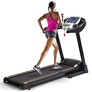 AMDirect Cinta de Correr Profesional 2.25PH 1000W Treadmill ...