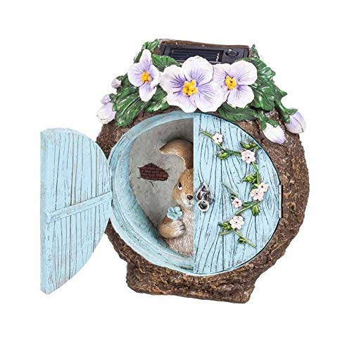 Miniature Dollhouse FAIRY GARDEN - Light-up Bunny At The Windows - Accessories by FOTOOLS (Image #3)
