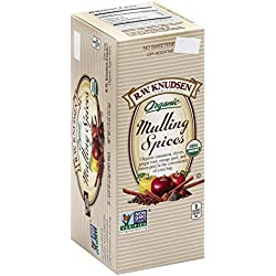 R.W. Knudsen Organic Mulling Spices, 25 Count, 1.75 Ounce Box