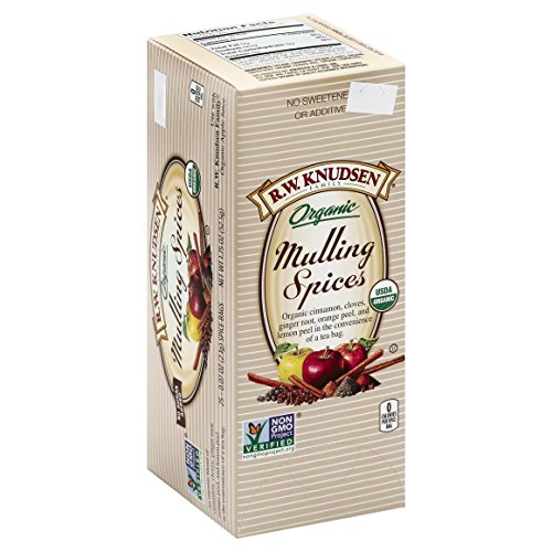 R.W. Knudsen Organic Mulling Spices, 1.75 Ounce Box Apple Cider Mulling Spices