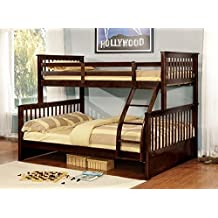 Bunk Bed - Twin Over Double Detachable (Espresso)