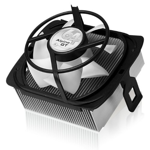 ARCTIC Alpine 64 GT - Supports AMD AM4 | CPU Cooler for Quie