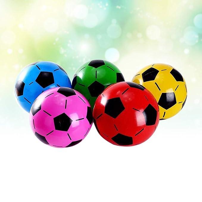 Toyvian Pelota de fútbol para niños, Colorida, práctica de fútbol ...