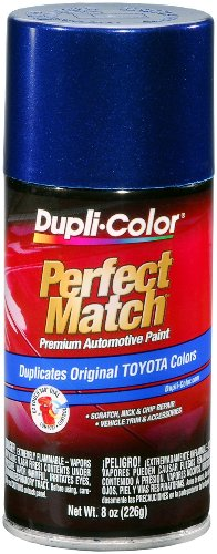 Stellar Blue Pearl - Dupli-Color EBTY16127 Stellar Blue Pearl Toyota Exact-Match Automotive Paint - 8 oz. Aerosol