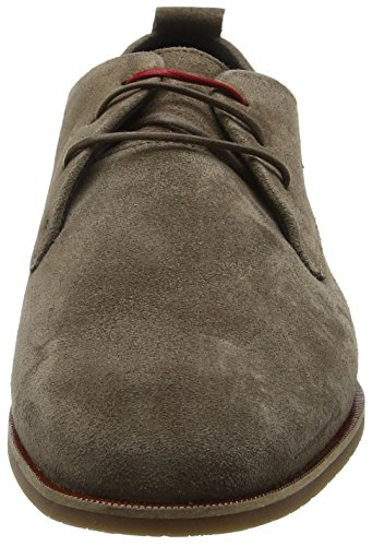Evo Taupe E Derby Marrone Stringate RepubliQ Uomo Royal Shoe Scarpe Suede v7q4xO