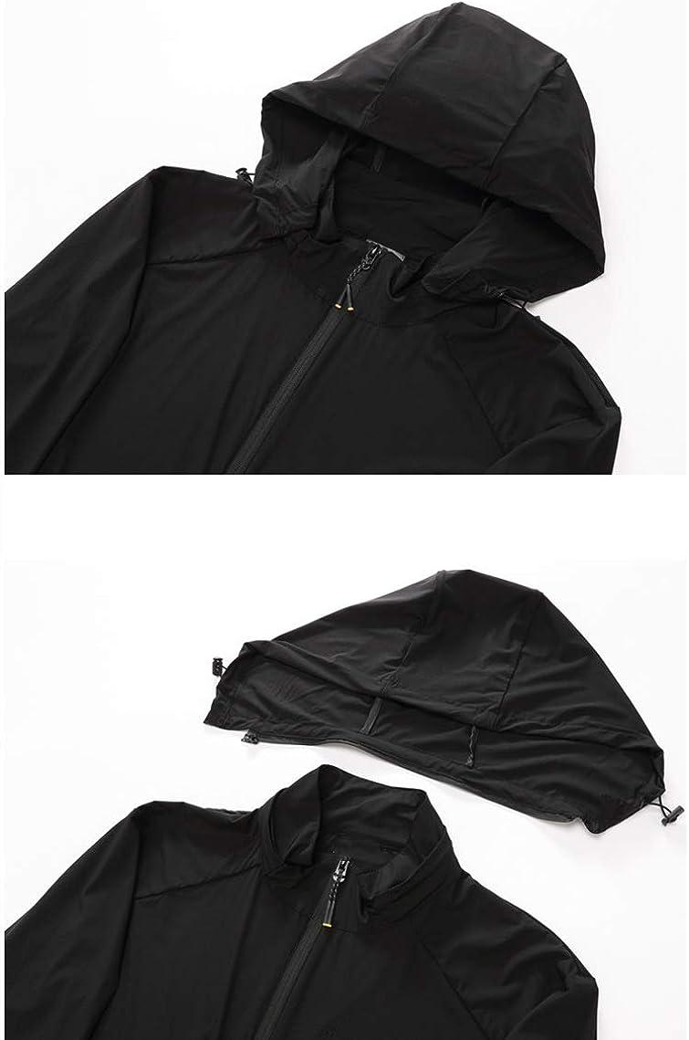 U/A Veste légère à capuche pour homme Taille XL Bleu