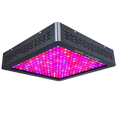 Led Grow Light,MARS HYDRO Full Spectrum Grow Lights for Greenhouse Indoor Plants Veg and Flower,Growing Light Bulbs for Hydroponics (MarsII 1200 W)